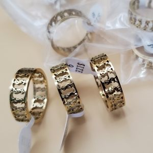 COPY - Earrings stainless steel color gold 7.8.9.…